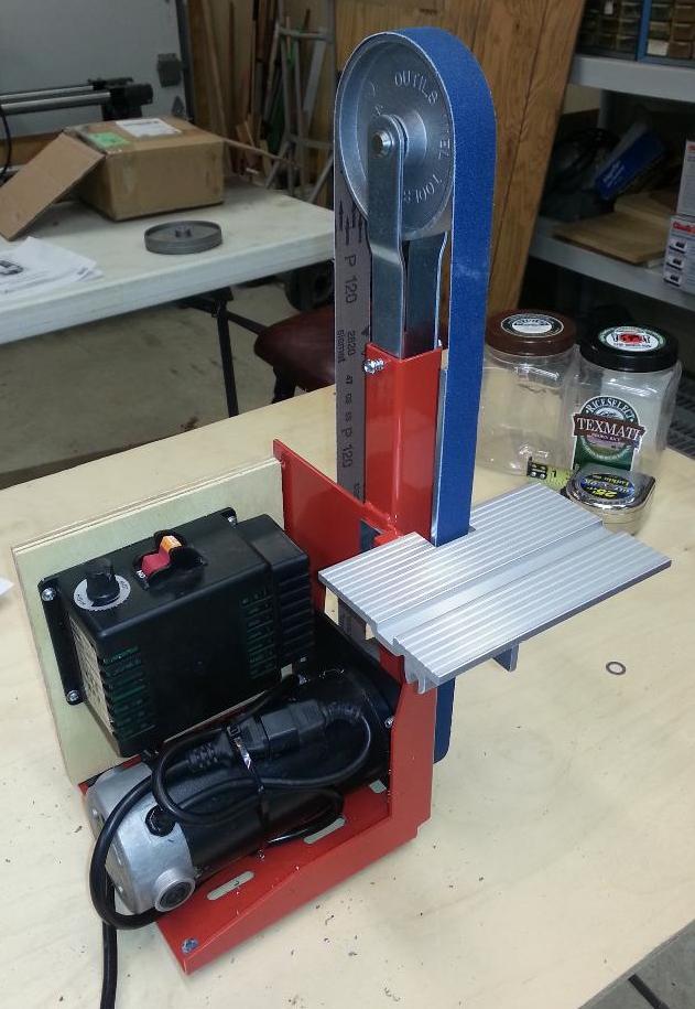 Cool Steves Knife Sharpening Site Belt Sanders Machost Co Dining Chair Design Ideas Machostcouk